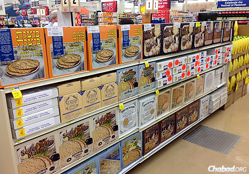 From small grocers in large Jewish population centers in the United States to chain supermarkets and even big-box retailers like Costco, there has been an explosion in recent years in the amount of shmurah matzah being produced and sold.