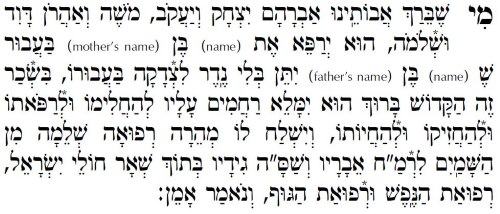 photograph regarding Moms in Prayer Prayer Sheets called What Is a Mi Sheberach? - Prayers for men and women in just require of