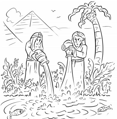 12Page New Passover Coloring Book