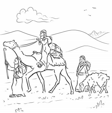 12-Page New Passover Coloring Book - Printables - Jewish Kids
