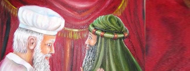 Metzorah Art: The Leper Receives Purification
