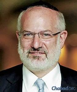 Eduardo Elsztain, honorary president of Chabad of Argentina