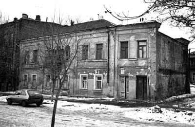 Rebbetzin Chana's apartment in Yekatrinoslav