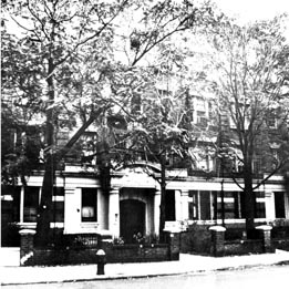 Rebbetzin Chana's Brooklyn residence, at 1418 President Street