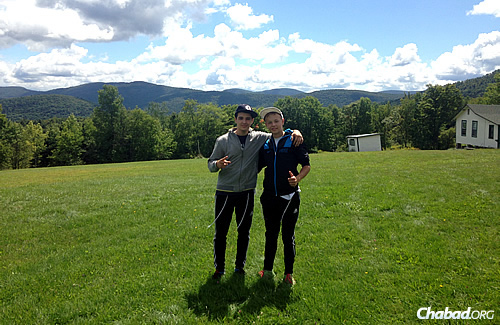 Friendships were made and common experiences shared last summer at an overnight camp for Jewish Deaf boys in Upstate New York. The campers came from the United States and Israel.