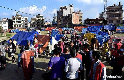 Given the devastation already being felt in Nepal, the fear is that without sturdy tents, the upcoming monsoon rains could make life even more unbearable for local residents.
