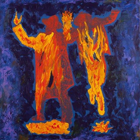 ריקוד הנשמות. ציור: יצחק מולי
