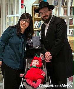 Rabbi Mendy and Haya Mouchka Mottal, CTeen representatives to France