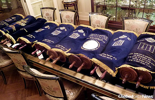 Twelve communities in four different countries will be given their own Torah scrolls this Shabbat, sent by the Beis Yisroel Torah Gemach in Brooklyn, N.Y.