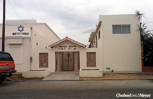 It can be a challenge to get a minyan in small Jewish communities like of La Paz, Mexico, at certain times of the year.