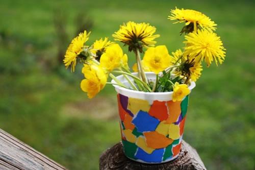 Decorative Flower Vase Shavuot Crafts Art Projects Jewish Kids