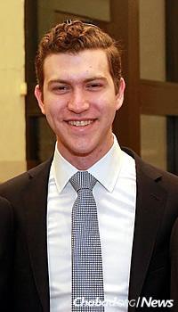 Binghamton University graduating senior Don Greenberg, 22