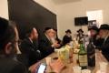 Rabbijn Moshe Kotlarsky op bezoek in Amsterdam
