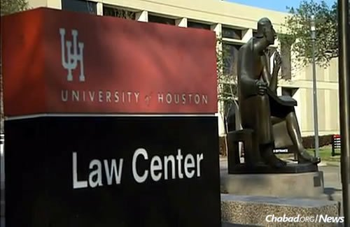 The school has made graduation accommodations for students in the past, but this was the first time it had done so for religious reasons, say administrators. (Photo: University of Houston Law Center)