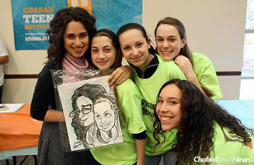 A group of real caricatures ..