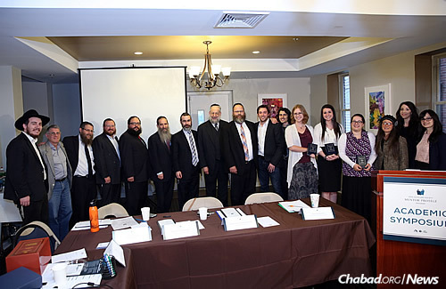 The seventh annual Sinai Scholars Society Academic Symposium brought together Jewish college students with noted Jewish academics for a day of serious discussion and debate. It was held this year at Lubavitch House at the University of Pennsylvania in Philadelphia. (Photo: Bentzi Sasson)