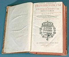 Index de livros proibidos pela Inquisição editada em Madri em 1667