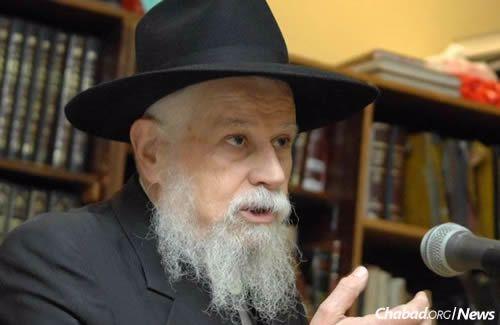 Rabbi Yerachmiel Binyomin Klein