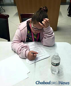 Children are quizzed on Maimonides' compendium of the Torah's 613 commandments.