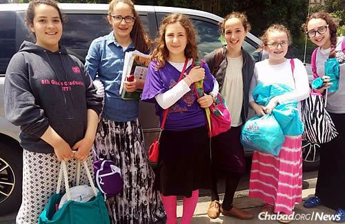 Girls from around the United States and the world arrived in the Crown Heights neighborhood of Brooklyn, N.Y., last week for an extended weekend of education, entertainment and the final round of tests for the international Chidon Hamitzvot competition.