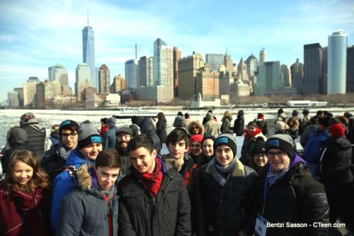 Lors du rassemblement annuel à New York