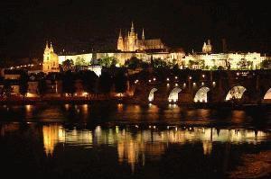 A cidade à noite