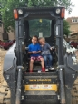 PreKindergarten visits a Construction Site