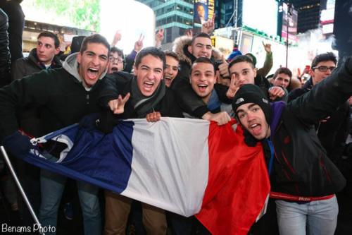 Havdala à Times Square lors du grand Shabbaton international