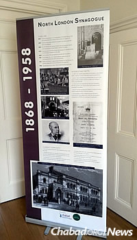 A panel on the history of the North London Synagogue