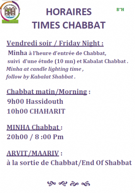 horaires chabbath.png