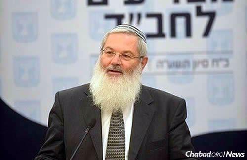 Deputy Defense Minister Eli Ben-Dahan (Photo: Meir Alfasi)