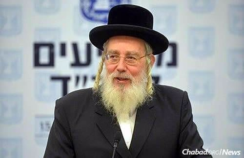 Chairman of the Public Petitions Committee MK Israel Eichler (Photo: Meir Alfasi)