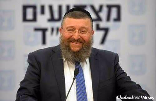 MK Yoav Ben-Zur (Shas) (Photo: Meir Alfasi)
