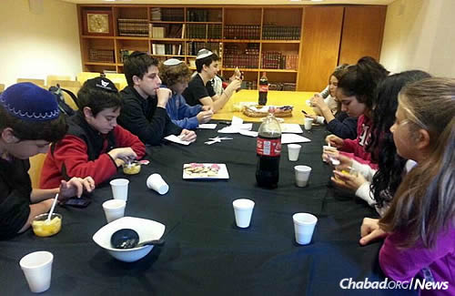 A teen club meets regularly at Wolfsohn, which plans on opening a high school in March 2016 to serve its elementary-school graduates.