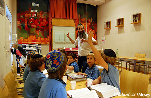 Wolfsohn's youth director Rabbi Gad Pichel runs after-school programs and extracurricular Jewish activities at the school.
