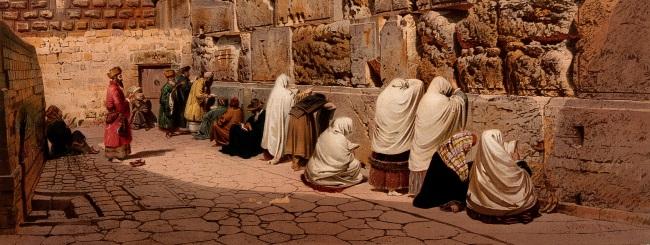 8 פתגמים על ירושלים, האבל, החורבן וההבטחה