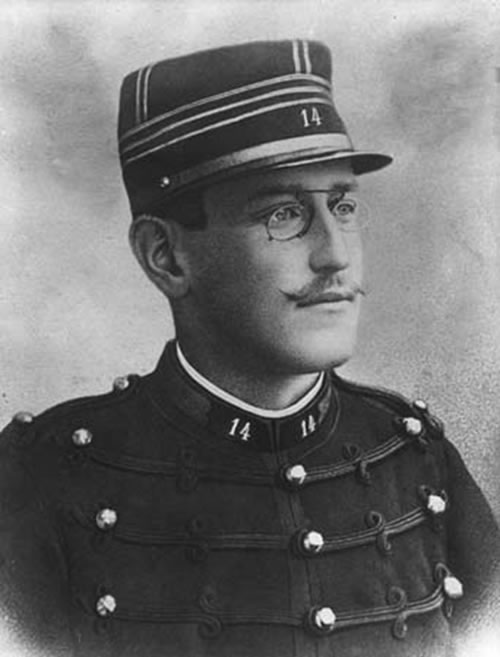Alfred Dreyfus, wrongfully convicted of treason, had a profound effect on European and Jewish affairs