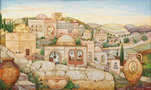 """Jerusalem of the Future"" © by Michoel Muchnik"