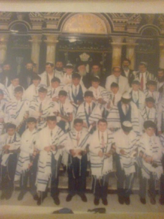 Il primo Bar Mitzvà in Israele organizzato da ChabadRoma e Amici