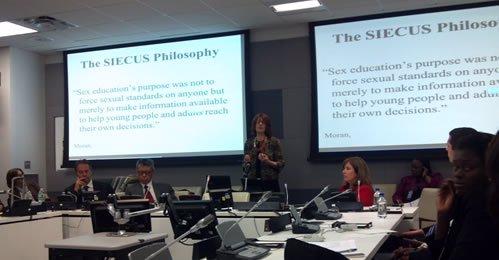 Miriam Grossman Speaks at the U.N.