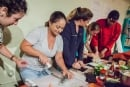 Ladies Sushi Making