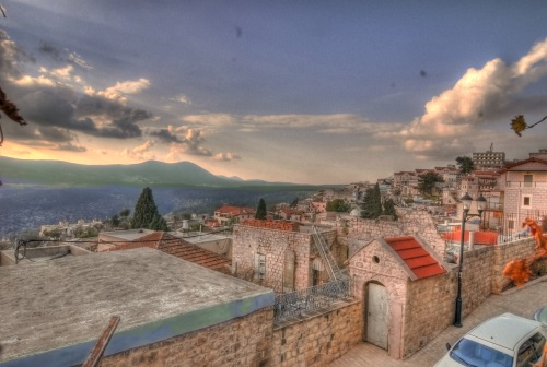 העיר העתיקה של צפת. צילום: אירית לוי