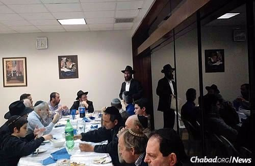 Rabbi Nosson Huebner and Rabbi Yecheskel Posner will observe the 25-hour Tisha B'Av fast at the Chabad House in Lima, where they have already joined the community for some celebrations.