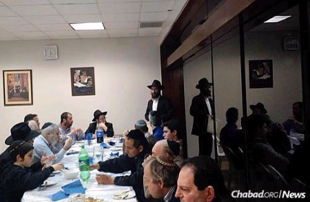 Rabbi Nosson Huebner and Rabbi Yecheskel Posner will observe the 25-hour Tisha B'Av fast at the Chabad House in Lima, Peru, where they have already joined the community for some celebrations.