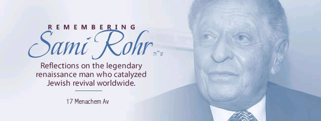 Obituaries: Remembering Sami Rohr
