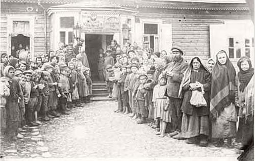 The soup kitchen in Novogrudek