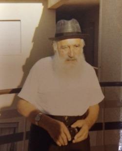 Reb Yisroel Dov Waxman in his later years.