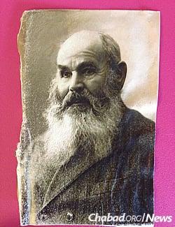 Steinberg's father, Chazkel Garfunkel (Photo: Dovid Margolin)