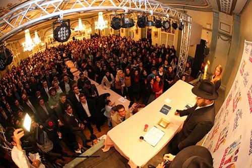 Chabad on Campus International/JewishWeekend.com