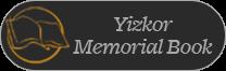 Yizkor Memorial Book